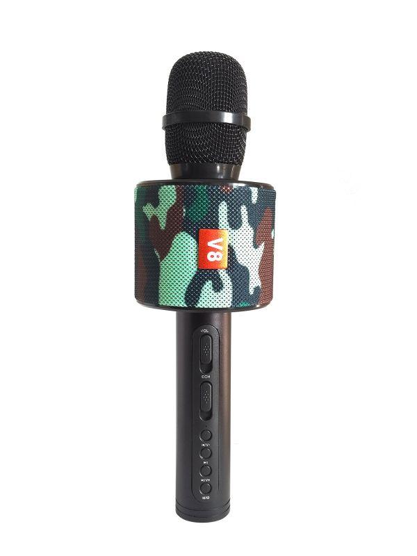 Bluetooth микрофон-караоке со встроенными динамиками Handheld KTV V8