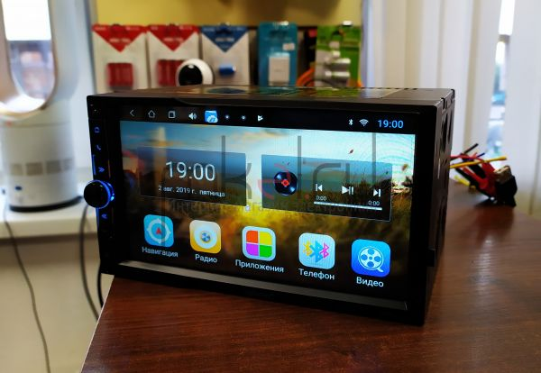 Автомагнитола c встроенным монитором Eplutus CA730 на базе Android 8.1