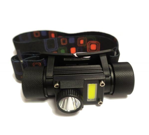 Налобный фонарик HT-777