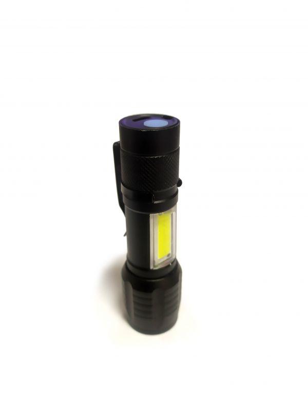 Светодиодный фонарь H-700 XPE + COB