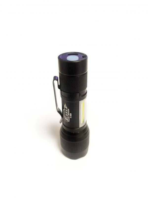 Светодиодный фонарь H-699 XPE + COB