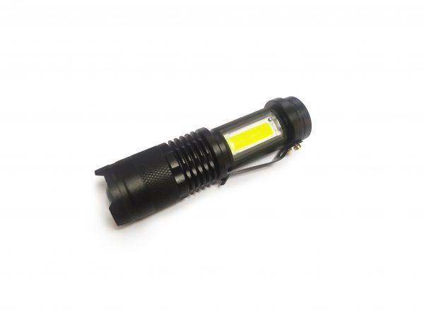 Светодиодный фонарь H-701 XPE + COB
