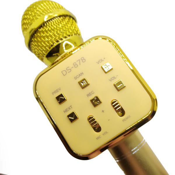 Микрофон-караоке DS878 Bluetooth USB/TF/FM/AUX