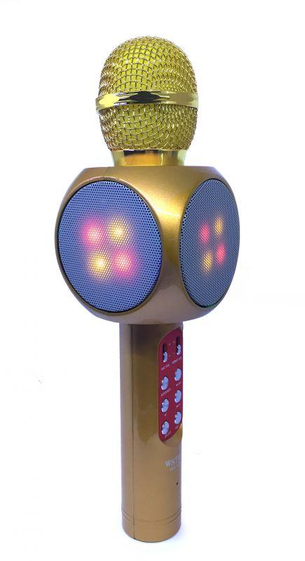 Bluetooth микрофон-караоке со встроенными динамиками WSTER WS-1816