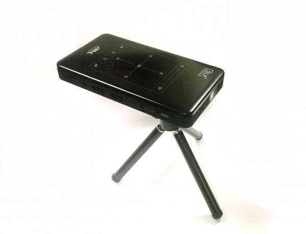 Мини проектор DLP P09 4K (Android / Wifi / Bluetooth / АКБ / HDMI / USB / TF)