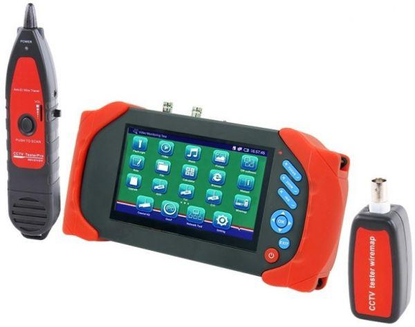 Тестовый (сервисный) монитор для проверки камер IPTEST 711M