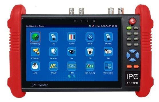 Тестовый (сервисный) монитор для проверки камер IPTEST 9800TDR