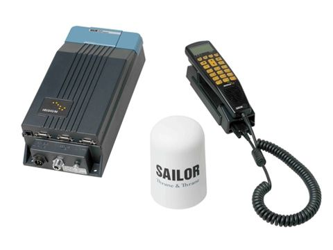 Стационарный морской комплект спутниковой связи Iridium Sailor SC4000