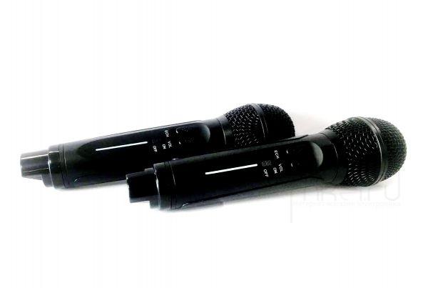 Колонка караоке OWL SDRD SD-306 с микрофонами