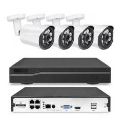 Комплект IP видеонаблюдения XPX 3804 5МП POE