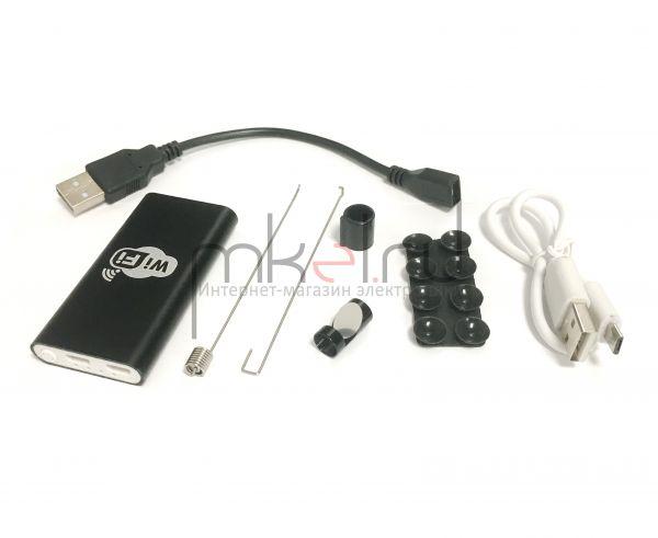 Инспекционная камера эндоскоп Wi-Fi MK 8-2m USB-micro полужесткий