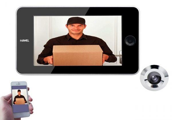 Видеоглазок Wi-Fi AVT HAWEL WF