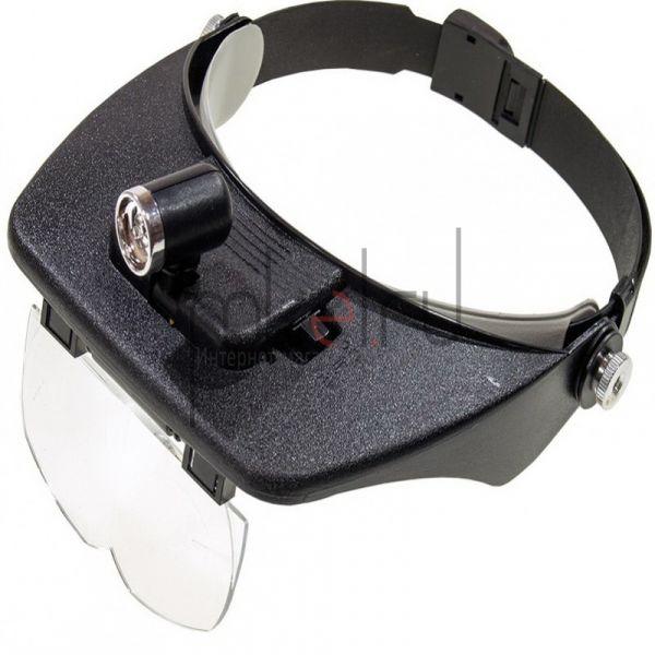 Бинокулярные очки Light Head Magnifying Glass MG81001-C
