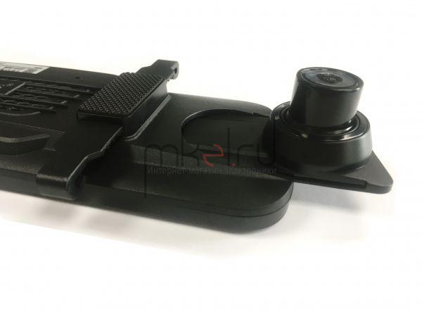 Автомобильный видеорегистратор в виде зеркала с 2-мя камерами Eplutus D84