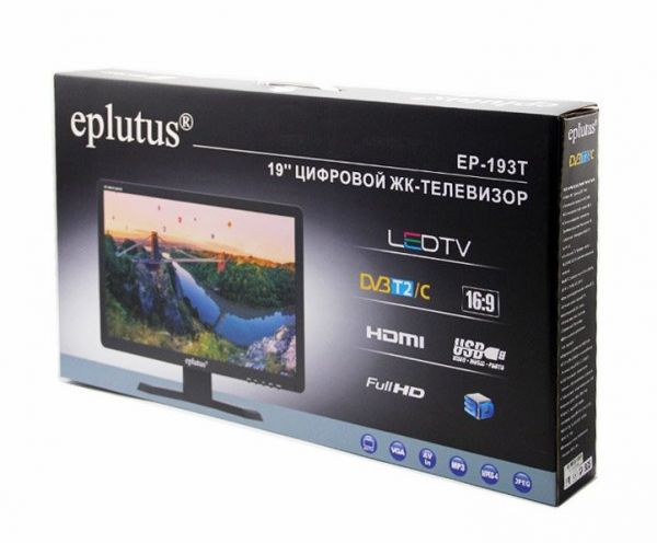 "Цифровой телевизор Eplutus EP-193T DVB-T2 (19"")"