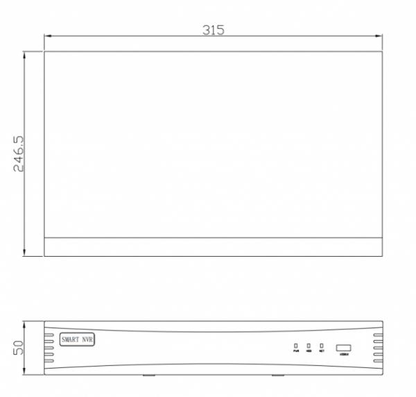 IP-Видеорегистратор Security BSP-NVR-1602-06 на 16 каналов