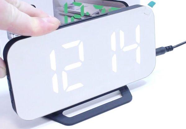 Электронные зеркальные часы DS-3625L