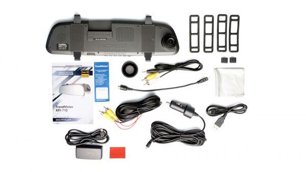 Автомобильный Видеорегистратор TrendVision MR-710 GNS