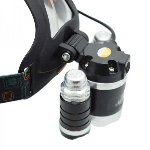 Налобный фонарь YYC-3000-3 T6