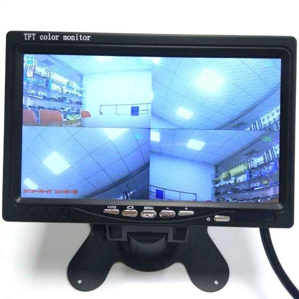 """Монитор для видеонаблюдения AVT Overlook 7 с USB и квадратором 7"""""""