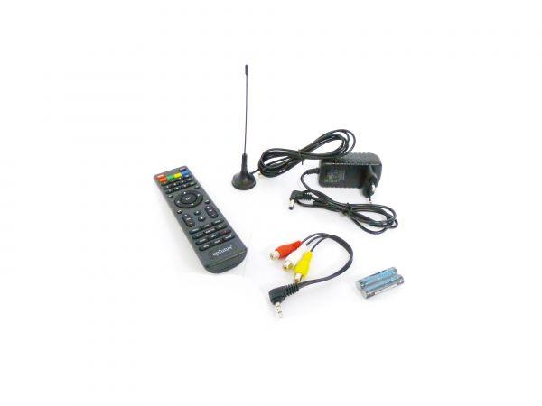"""Портативный цифровой телевизор Eplutus EP-143T (14.1"""") DVB-T2"""