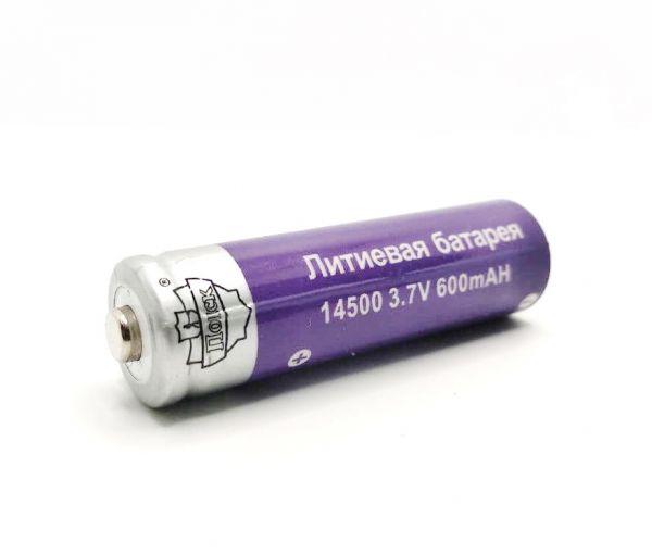 Аккумулятор 14500 600 мАч 3.7V