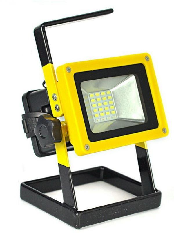 Прожектор светодиодный АКБ YYC-204 100W