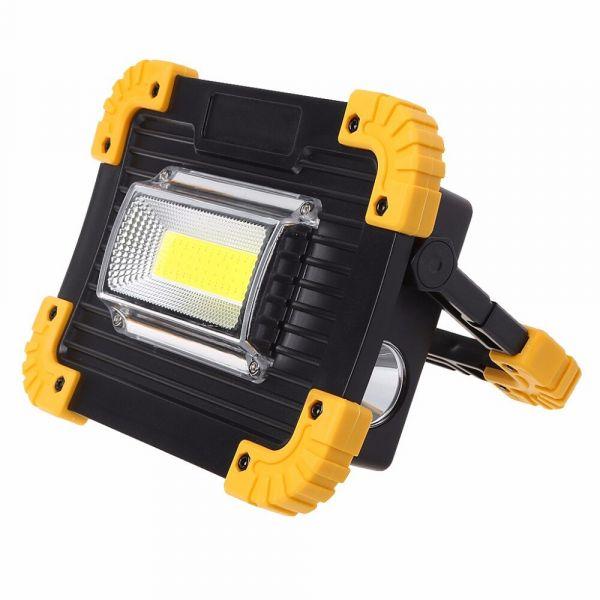 Прожектор светодиодный LED переносной YYC-7759-20W