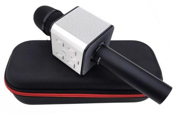 Bluetooth микрофон-караоке со встроенными динамиками Q7 Black