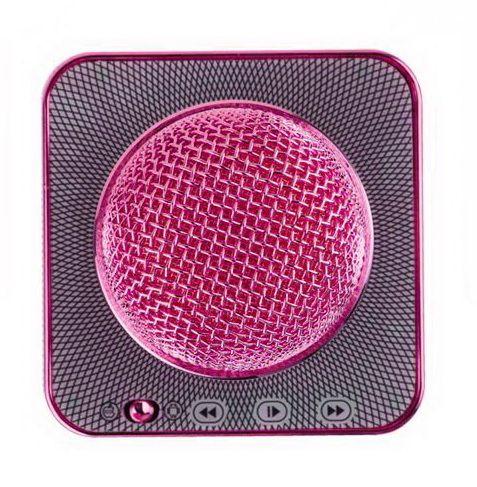 Bluetooth микрофон-караоке со встроенными динамиками Q7 Pink