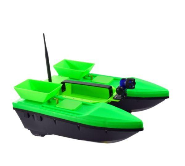Прикормочный кораблик Телтос 3 + эхолот Lucky FF 718