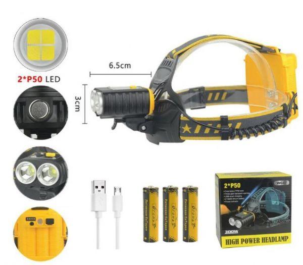 Налобный фонарь HT-805-P90