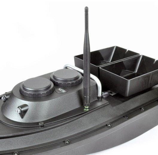 Прикормочный кораблик Флайтек PRO + эхолот Lucky FF 916