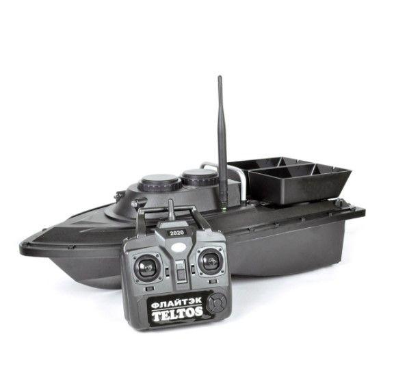 Прикормочный кораблик Флайтек PRO + Эхолот Lucky FF 718 li-W