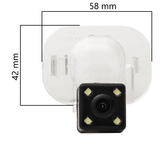 Камера заднего вида AVIS AVS112CPR 031 Hyundai / Kia