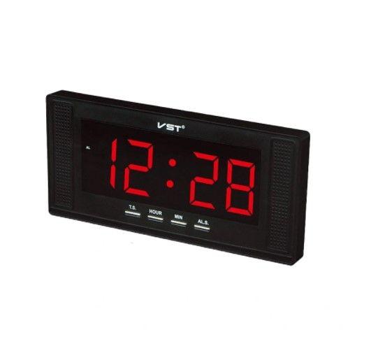Электронные часы VST 729-1 (красный)