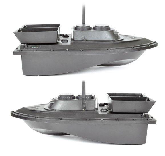 Прикормочный кораблик Флайтек PRO + Эхолот Lucky FF 518