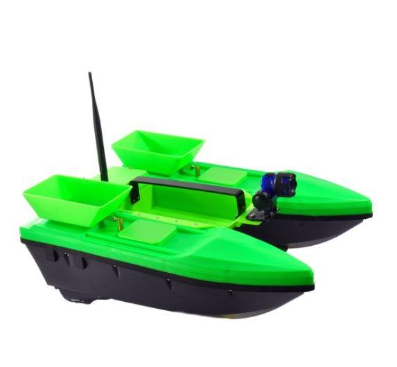 Прикормочный кораблик Телтос 3 + Эхолот Lucky FF 718 Li-D