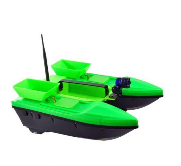 Прикормочный кораблик Телтос 3 + эхолот Lucky FF 718 li-W
