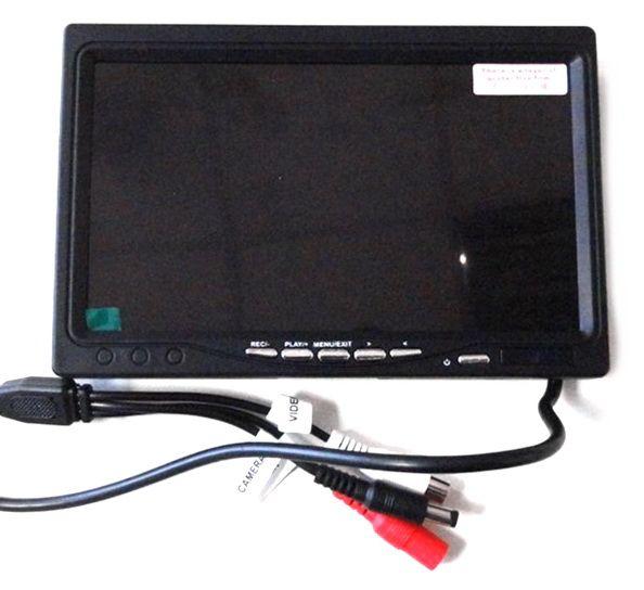 """Монитор для видеонаблюдения с функцией записи AVT 3070DR 7"""""""