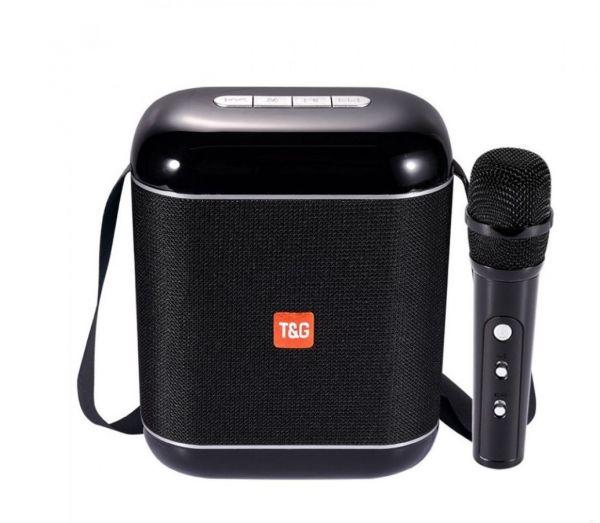 Колонка караоке T&G TG523K с микрофоном