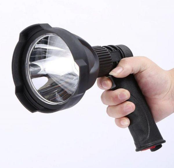 Фонарь прожектор аккумуляторный с зарядкой Огонь H-745-P50