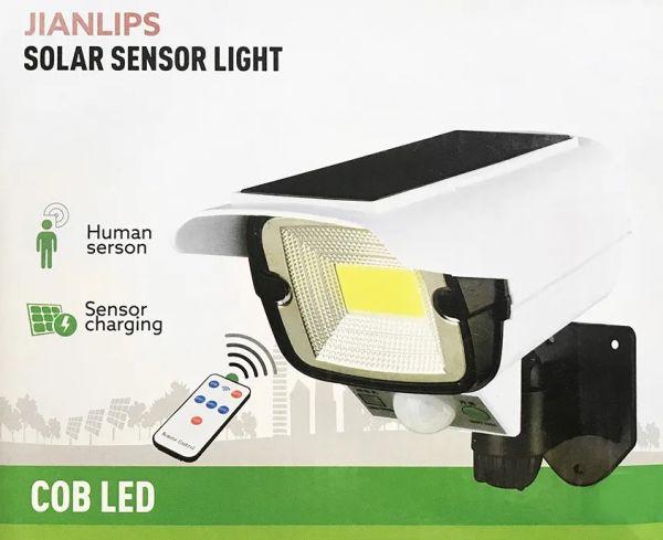 Уличный фонарь-прожектор на солнечной батарее YYC-GY-2176