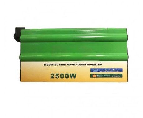 Автомобильный инвертор Солнце 2500W 24V-220V