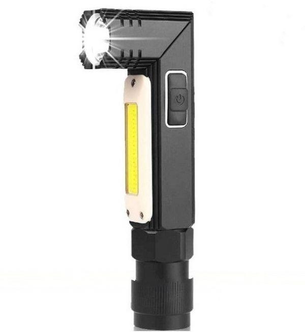 Фонарь аккумуляторный ручной P-Z02 на магните
