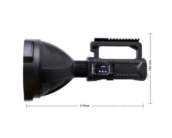 Фонарь прожектор Огонь POLICE H-746-P50