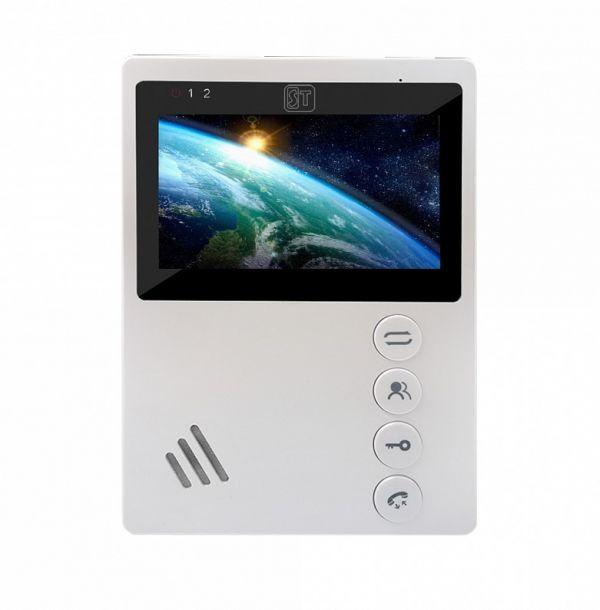 Монитор видеодомофона ST-M101/4 (M) БЕЛЫЙ