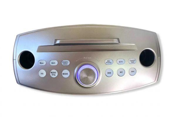 Портативная караоке система SDRD SD-306 Plus с двумя микрофонами