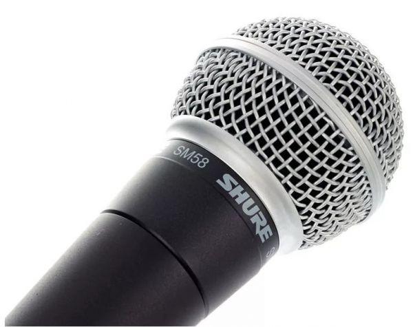 Динамический кардиоидный вокальный микрофон Shure SM58-LCE