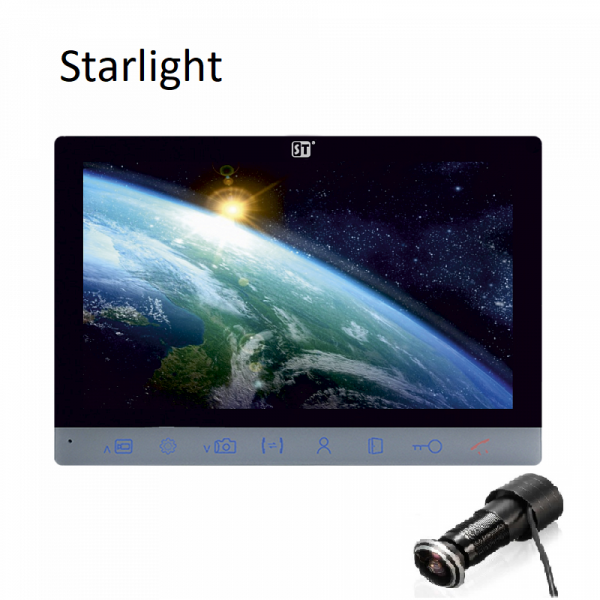 Видеоглазок для входной двери SMART DOOR EYE 2 Starlight